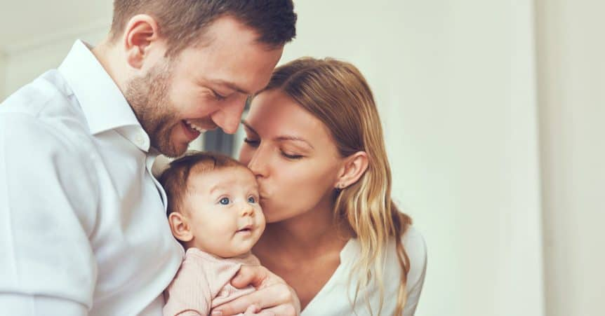 Couples Counseling Fort Lauderdale - Couple Bringing Home A Newborn Baby - The Psychology Group Fort Lauderdale