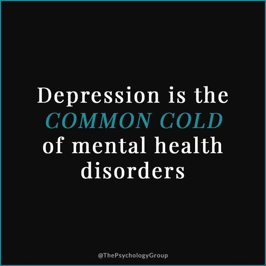 Signs and Symptoms of Depression - Depression Therapy Fort Lauderdale - Depression is the Common Cold of Mental Health