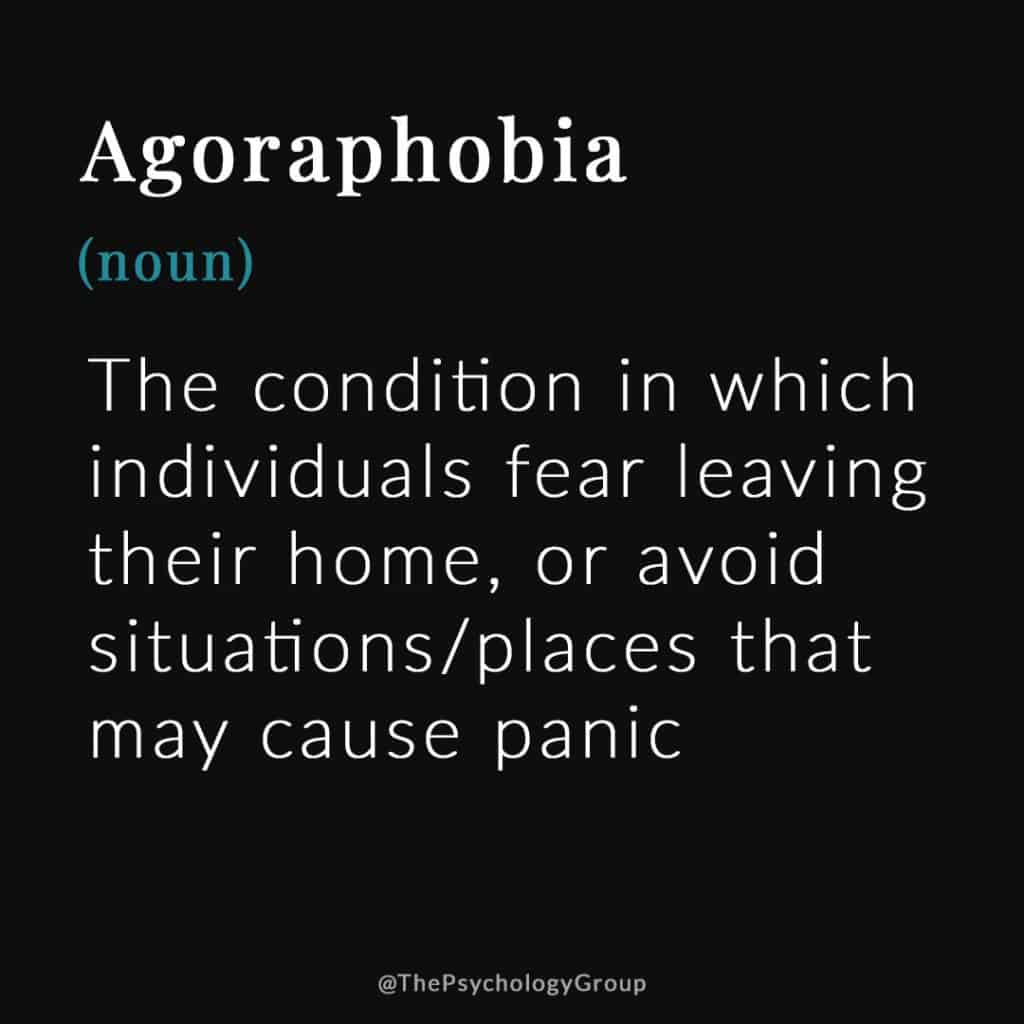 Agoraphobia Defined