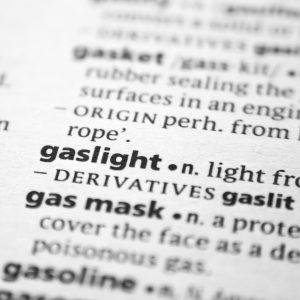 Gaslighting Dictionary Image