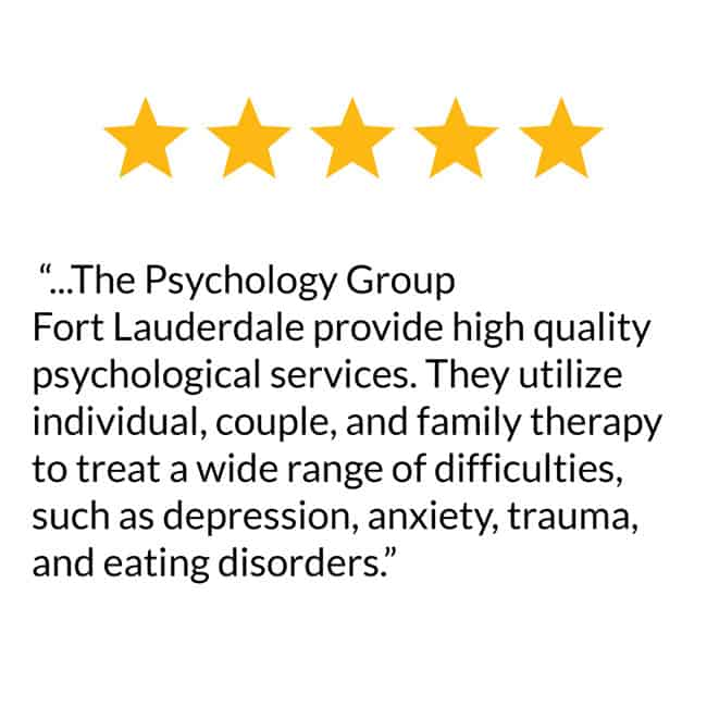 Review of Psychologist in Fort Lauderdale Florida